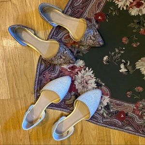 🤍🤎 Gap // TWO Pairs of Pointed Toe Flats